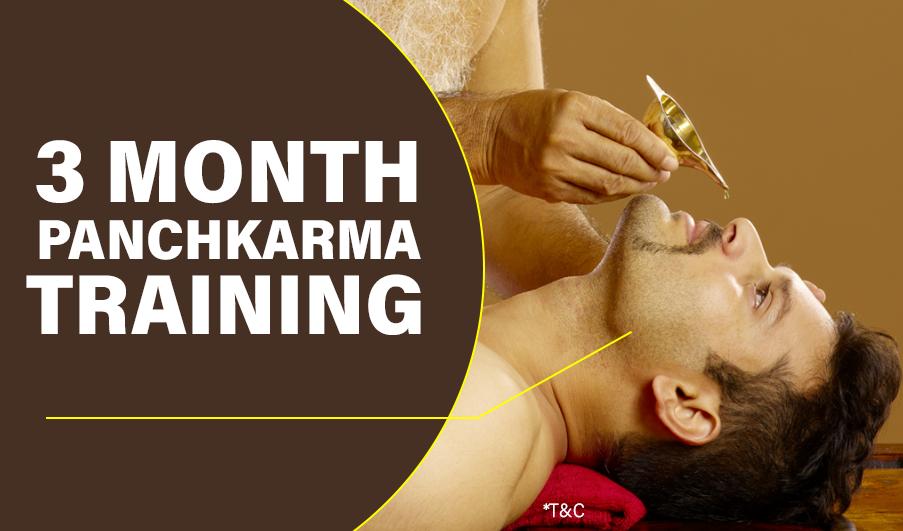3 Months Panchakarma training