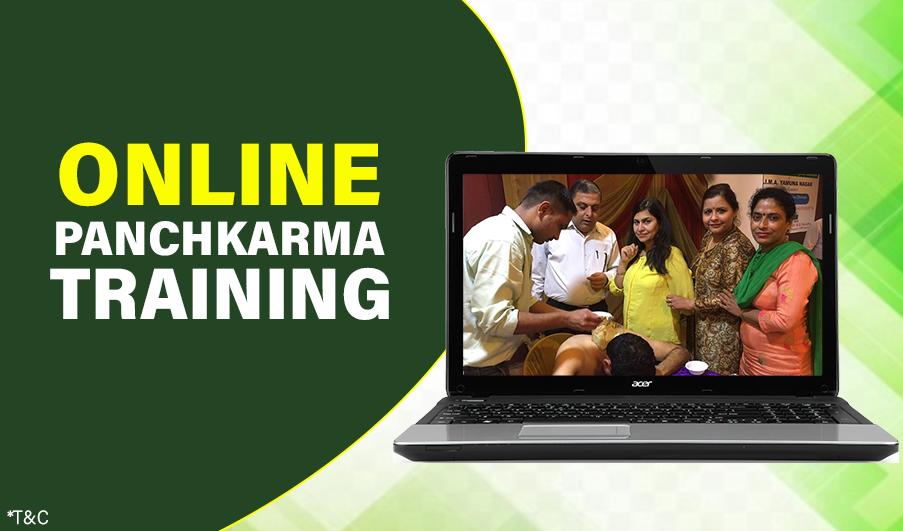 Online Panchakarma training