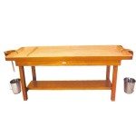 Traditional Wooden Massage Cum Shirodhara Table
